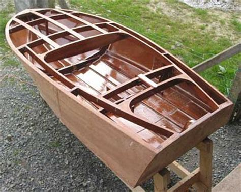 Flat Bottom Boat 7 Letters by Squirt Outboard Runabout Plans