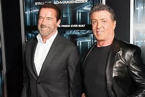 Sylvester Stallone Vs Arnold Schwarzenegger Arm Wrestling