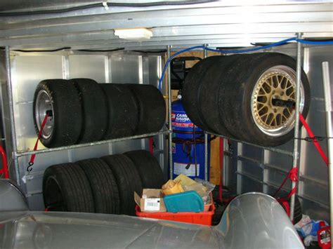 nose trailers enclosed   mount tires page