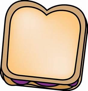 Peanut Butter and Jelly Sandwich Clip Art - Peanut Butter ...