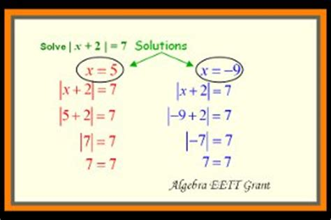 How To Solve Absolute Value Story Problems  Hurry This