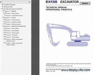 Fiat Hitachi Crawler Excavators Ex Pdf Manuals