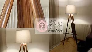 Lampadaire Design Ikea : diy lampadaire pied de g om tre miss ambre ~ Teatrodelosmanantiales.com Idées de Décoration