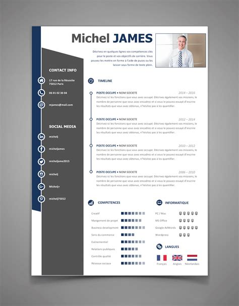 New Cv by Exemple De Cv New Age L Cr 233 Er Un Cv Modele Cv Format