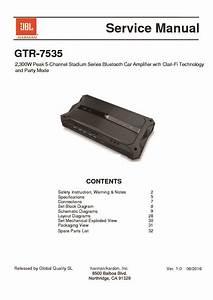 Jbl Gtr 7535 Service Manual