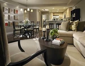 deco un salon salle a manger With salle À manger contemporaineavec meubles pour salon et salle a manger