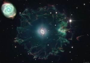 Planetary Nebula NGC 6543 - Pics about space