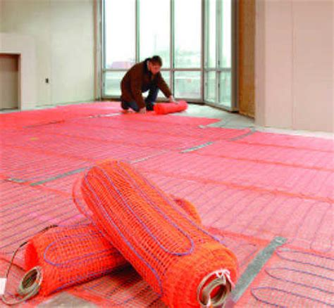 Suntouch Floor Heating Install by Suntouch Electric Radiant Floor Heat Mats Kit 10 Sq Ft