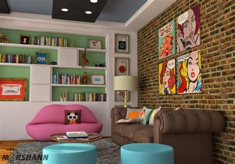 20 chic interior designs inspired by pop