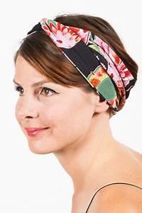 bandeau a cheveux japon floral noir bandeaux foulards With tapis chambre bébé avec bandeau cheveux fleur femme