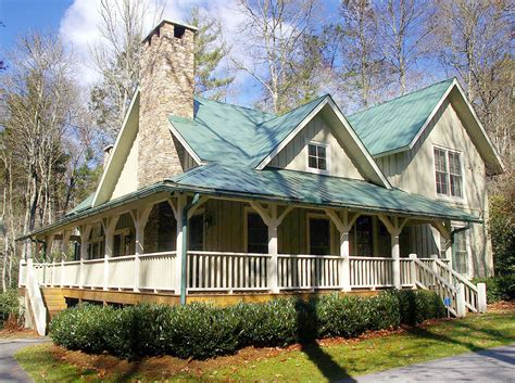 cottage house plans with wrap around porch the cottage retreat 26607gg 1st floor master