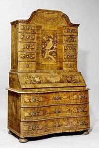 Barocker Schreibschrank 18 Jhdt Antik Mbel Hesz
