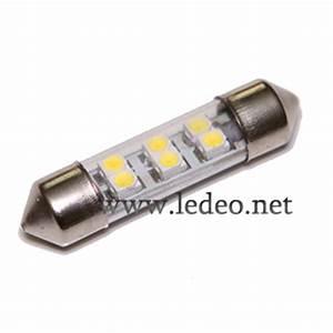 Ampoule Jeu De Lumiere : 2 ampoules navettes 36mm c5w festoon 6 led smd ~ Dailycaller-alerts.com Idées de Décoration