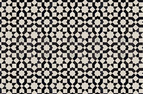 black white tile delight cococozy