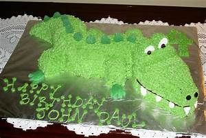 alligator cakes decoration ideas little birthday cakes With crocodile birthday cake template