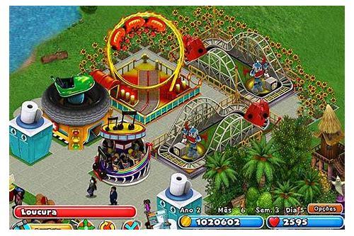 parque de diversão jogo de construir baixar gratuito
