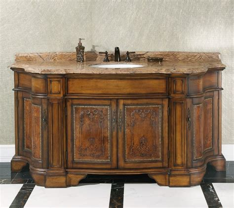 legion   vintage single sink bathroom vanity wb