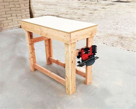 diy small workbench myoutdoorplans  woodworking