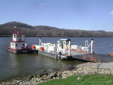 Ferry Boat Orion by Sistersville Ferry Tyler County West Virginia