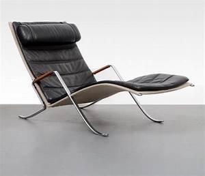 preben fabricius jorgen kastholm chaise longue fk 87 With canapé chaise longue cuir