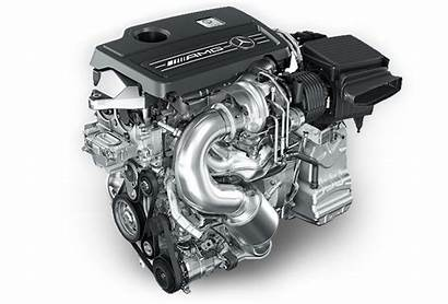 Mercedes Engine Amg Turbo M133 Cylinder Motor