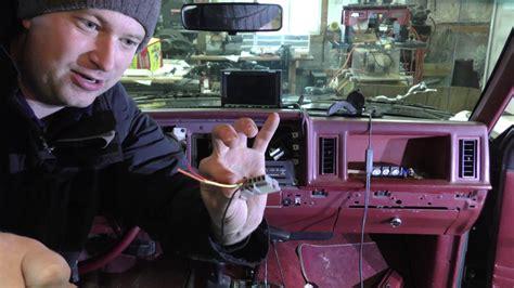 installing   radio    ford ranger sony