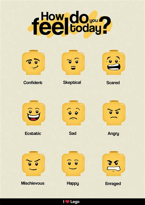 Lego And Other Visual Supports To Help Autistic Children Understand Emotions