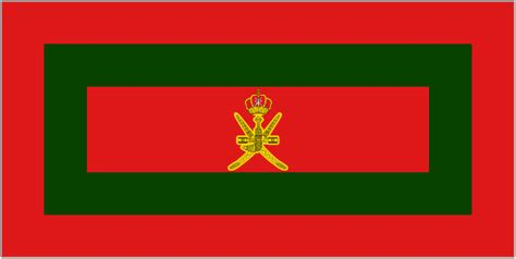 Royal And Vice Regal Flags Of Oman