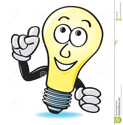 Idea Light Bulb Cartoon  Clipart Panda  Free Clipart Images