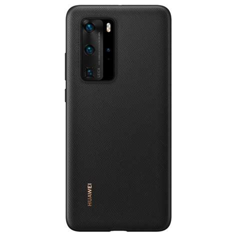 Huawei P40 Pro PU Case 51993787 - Black