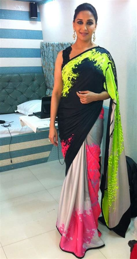 Tight Saree Draping - fashion tips how plump can look slim in a saree