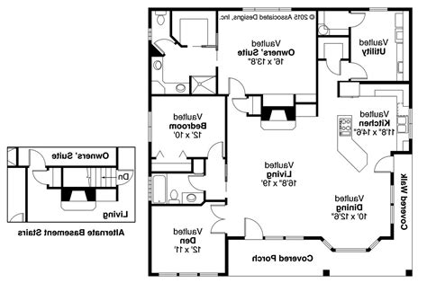 cottage floor plans cottage house plans lincoln 30 203 associated designs