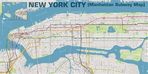chambre noir photographie york city plan métro manhattan ohmyprints