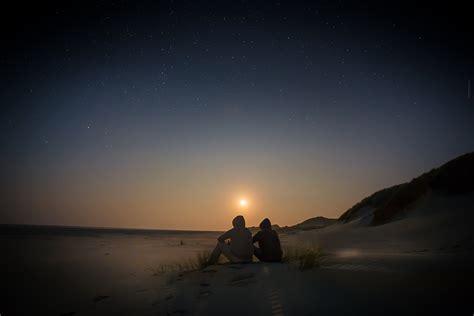 kostenlose foto strand horizont licht himmel