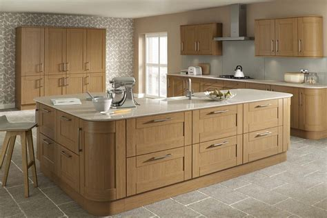 Solid Oak Kitchen Doors  Malham Oak