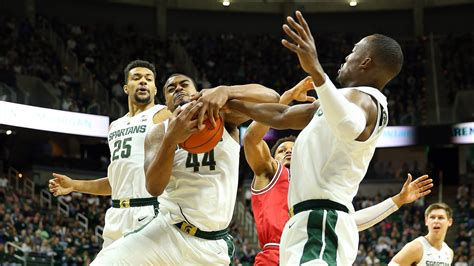 michigan state basketballs defense stops northern illinois