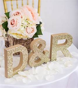 wooden letters wedding sign freestanding wedding initials With personalised letters for weddings
