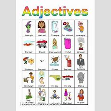Fun Game To Teach Adjectives  Speech Therapy Ideas  English Fun, English Adjectives, English