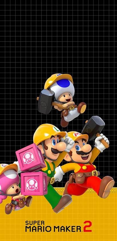 Mario Maker Super Builders Phone