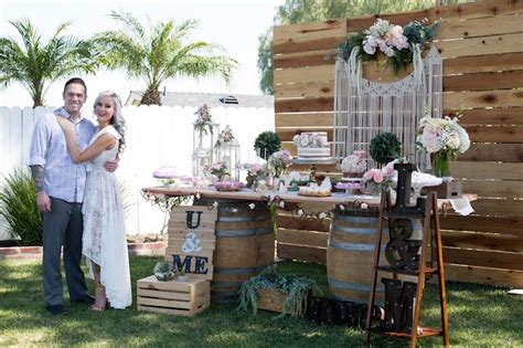 Kara's Party Ideas Boho Rustic Chic Engagement Party