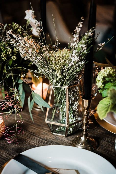 trending  industrial wedding centerpiece ideas   page      day