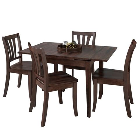 target dining table set corliving dining table set cappucino target