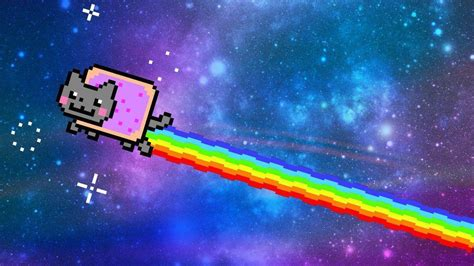Nyan Cat Wallpaper Animated - nyan cat wallpapers wallpaper cave