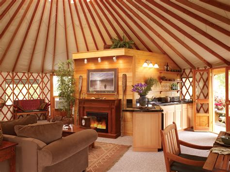 small log homes floor gling with pacific yurts business wire