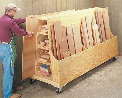 scrap wood storage holders   diy lumber storage