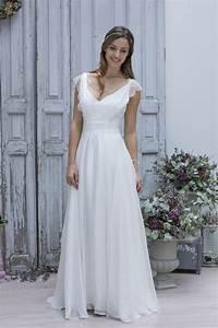 Robe Simple Mariage : robe de mariage simple robe blanche de mariage 2016 robeforyou ~ Preciouscoupons.com Idées de Décoration