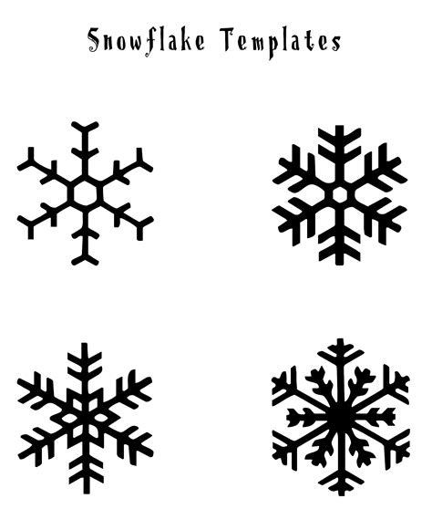 small snowflake template snowflake templates for royal icing 27 of small template printable patterns infovia pertaining