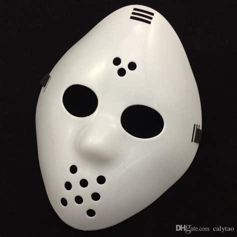 killer jason mask cosplay party mask full face white mask