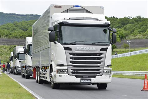 scania trucks scania expands its offering in japan scania group