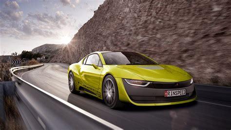rinspeed etos concept  driving car wallpaper hd car